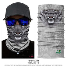 Load image into Gallery viewer, 3D Cycling Magic Scarf Fishing Bandana Animal Neck Warmer Tube Shield Gaiter Scarf Face Mask Headband Snowboard Bicycle Headwear