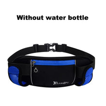 Load image into Gallery viewer, Running Bags Waist 2 Water Bottle Outdoor Camping Hiking Fitness Man Women Gym Lightweight Belt Bag Female Sports Fanny Packs