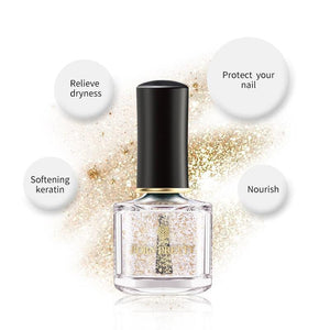 Nail Care Essence 6ml Gold Foil Treatment Cuticle Oil Feet Care Nails Edge Protection Liquid - moonaro