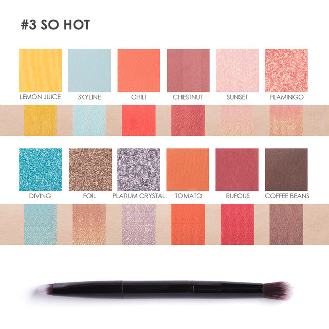only 90 piece available SO HOT Definitely Recommend Rich Beautiful Color Pigment Smooth Soft Shimmer Glitter Eyeshadow Palette Match Your Eyes