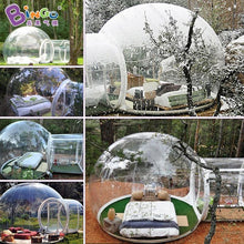 Load image into Gallery viewer, 6X4 Meters transparent bubble tent / transparent dome tent / transparent camping tent toy tents - moonaro