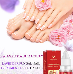 Lavender Fungal Nail Treatment Essential Oil Nail Promote Nails Grow Healthy Nail Treatment Onychomycosis Foot Care