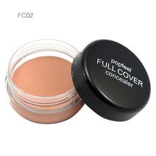 Load image into Gallery viewer, Blemish Full Cover Concealer Creamy Make Up Face Lip Eye Pores Foundation Face Concealer Cream Makeup - moonaro