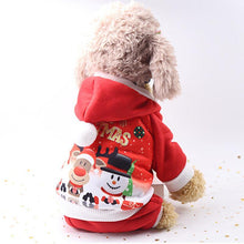 Load image into Gallery viewer, Christmas Dog Clothes Winter Pet Clothes for Small Dog Coat Jacket Costume Hoodies Warm Cat Santa Claus Christmas Pet Apparel