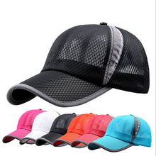 Load image into Gallery viewer, Sports Cap Women  Summer Spring Polyester Caps Women Letter Solid Adult Cap