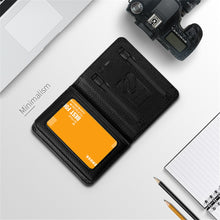 Load image into Gallery viewer, Men Women Smart Wallet With USB F Charging Wallet Adapt For Ipone And Android Capacity 4000 mAh Creative Wallet