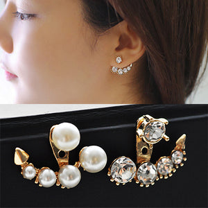 Classic Elegant Long Earrings For Women Fashion Geometric Crystal Gold Color Water Drop Earring Brincos Bijoux Jewelry - moonaro