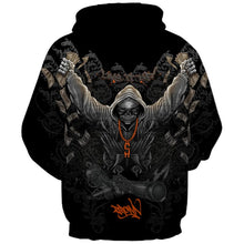 Load image into Gallery viewer, New Fashion Brand Halloween Hoodies Men/Women Thin 3d Sweatshirts Print Cool Skulls Hooded Hoodies