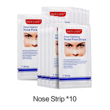 Load image into Gallery viewer, Nose Strips Deep Cleansing Blackhead Remover Nasal Spot Facial Dot Sticker Sheet Nose Mask Shill For Acne Black Head