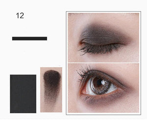 3 Styles 12 Colors Matte Pigment Glitter Eyeshadow Palette Nudes Neutral Eye Shadow Palettes Makeup Set - moonaro