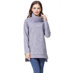 Elegant Maternity Clothes Thermal breastfeeding Coat Turtle Neck Nursing Sweaters Hoodie New Arrivals