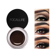 Load image into Gallery viewer, 250 piece available Eyes Comestic Waterproof Eye Liner Gel Makeup Long Lasting Liquid Eyeliner Cream Eyeliner Makeup Set + Black Brush - moonaro