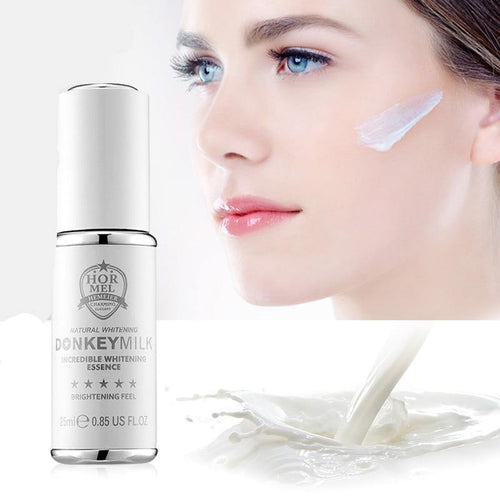 Donkey Milk Face Serum Anti Aging Strong Whitening Serum Korean Facial Moisturizer Blemish Removal Cream Skin Care 25ml