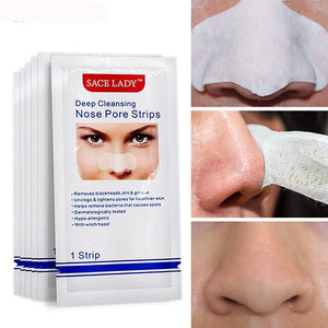 Nose Strips Deep Cleansing Blackhead Remover Nasal Spot Facial Dot Sticker Sheet Nose Mask Shill For Acne Black Head