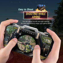 Load image into Gallery viewer, PUBG Mobile Phone Controllor For iPhone X XS MAX 8 Samsung Xiaomi Gaming Joystick Game Fire Button Aim Key Shooter