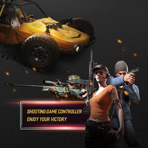 PUBG Mobile Phone Controllor For iPhone X XS MAX 8 Samsung Xiaomi Gaming Joystick Game Fire Button Aim Key Shooter