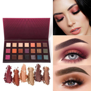 Matte Eyeshadow Palette 21 Colors Glitter Shadow Makeup Professional Eye Pallete Shimmer Make Up Waterproof Cosmetic