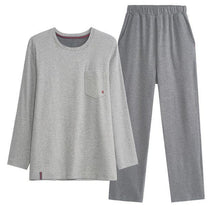 Load image into Gallery viewer, Long sleeve pajama set Smooth Cotton Sleepwear high-grade Pajama sets