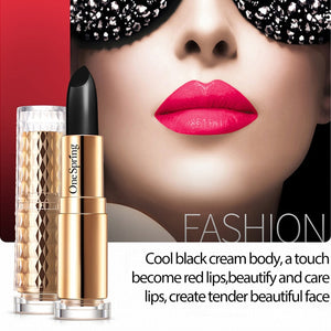 extract black lipstick Sexy Red Lip Waterproof Long Lasting Matte Lipstick Moisturizer Color changing lipstick