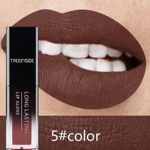 30 Color Matte Lipstick Liquid Lip Gloss Waterproof Makeup Long Lasting Mate Nude Tint Lipgloss Red Purple Black Makeup For Women - moonaro