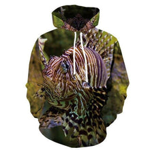 Load image into Gallery viewer, Hoodies Men Fish 3d Hoodie Animal Printed Sweatshirt Hooded Tropical Fisher  Men's Clothing Casual Pullover