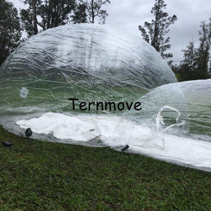 inflatable bubble tent,bubble camping equipment inflatable beach wedding Garden  Tent With Rooms