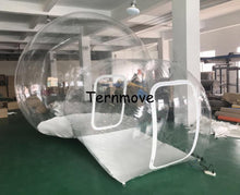 Load image into Gallery viewer, inflatable bubble tent,bubble camping equipment inflatable beach wedding Garden  Tent With Rooms