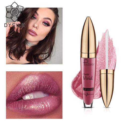Hot Glitter Lips Liquid Lipstick Women Makeup Waterproof Blue Purple Wine Red 18 Colors