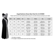 Load image into Gallery viewer, Black White Party Gown Long Prom Dress Women's Strapless Criss-Cross Classic Mermaid - moonaro