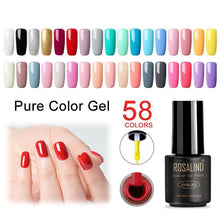 Load image into Gallery viewer, 7ML UV Gel Nail Polish Set For Manicure Gellak Gel Varnishes Semi Permanent Hybrid Nails Art - moonaro