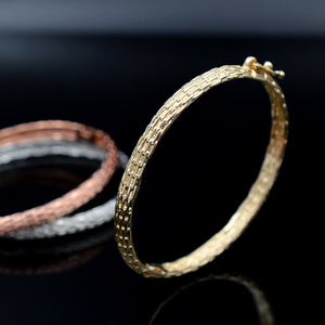 Classic Jewelry Copper Open Cuff Big Small Bangles Bracelets For Women Girls Daily Gifts Jewelry Findings - moonaro