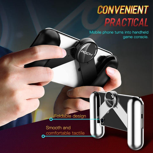 PUBG Mobie Phone Controller Gamepad Extended for PUBG Rules of Survival Gaming Pad Stand For iphone Samsung Huawei Holder