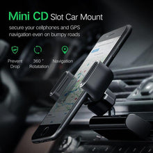 Load image into Gallery viewer, Car Phone Mount CD Slot Car Phone Holder for iPhone 8 Magnetic Holder Stand Clip Cell Phone Holder for Huawei Tablet GPS - moonaro