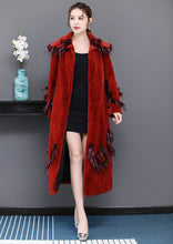 Load image into Gallery viewer, Big size faux fur coat woman long fluffy plus size patchwork fur outwear xxxl 5xl 6xl warm winter fashion overcoat - moonaro