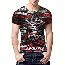 Load image into Gallery viewer, EU Size Fashion Men/Women Loose T-shirt Print Letters Statue Of Liberty T-shirt Cool Summer Tops Tees - moonaro