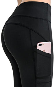 Push Up Leggings High Waist Pocket Women Gym Sport Pants Fitness Patchwork Yoga Workout Leggings