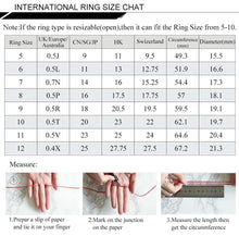 Load image into Gallery viewer, Emerald Gemstone Rings For Women Genuine 925 Sterling Silver Christmas Wedding Engagement Valentine's day Fine Jewelry