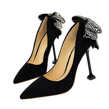 Load image into Gallery viewer, High Heel Pumps Women High Heels Shallow Butterfly-knot Woman Sexy Party Wedding Ladies Shoes Women Shoes High Heel