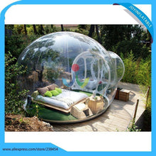 Load image into Gallery viewer, free shipping 6X8M Inflatable Transparent Camping Bubble Globe Tent For Outdoor Show House
