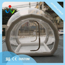 Load image into Gallery viewer, free shipping 6X8M Inflatable Transparent Camping Bubble Globe Tent For Outdoor Show House - moonaro