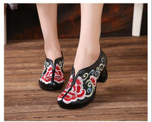 Load image into Gallery viewer, Leather Shoes Woman New 2019 Women High Heel Shoes Comfortable Elegant Fashion Shoes