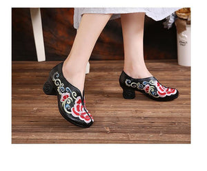 Leather Shoes Woman New 2019 Women High Heel Shoes Comfortable Elegant Fashion Shoes