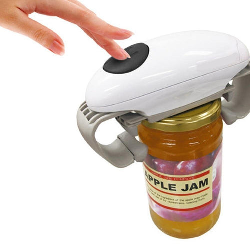 Automatic Jar Opener Openers Automatic Tin Opener Canned Electric Bottle Opener Jar Opener
