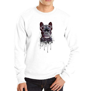 dog cool hoodies men breathable cotton sweatshirt casual tops cool outwear dog hoodie men