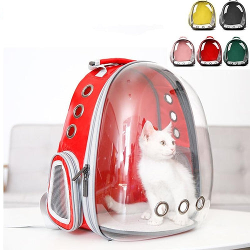 Capsule Transparent Pet Backpack Puppy Carrier Travel Bag Airline Approved For Puppy Cat Dog