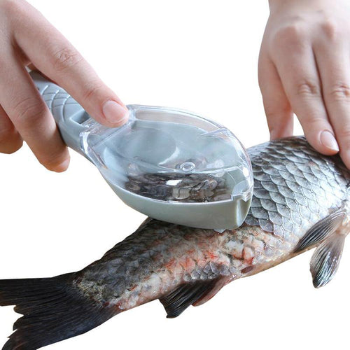 Fish Scaler Cleaning Skin Fast Fish Peeler Tweezers Knife Scraper Seafood Tools