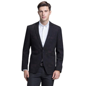 Men Blazer  Latest Coat Design Luxury Men's Casual Blazer Jackets Autumn One Button Blazer Masculino Slim Fit