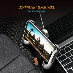 PUBG Mobie Phone Controller Gamepad Extended for Rules of Survival Gaming Pad Stand For iphone Samsung Holder Clearance 49%