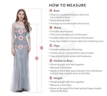 Load image into Gallery viewer, V Neck Watteau Train Evening Dress Women Pregnant Dresses  Long Sleeves Belt