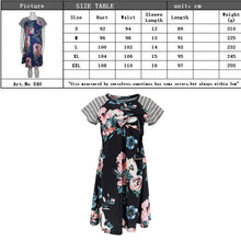 Load image into Gallery viewer, Summer Fashion Solid Color Vestido nursing dress Maternity Clothing Casual Dresses for pregnant women